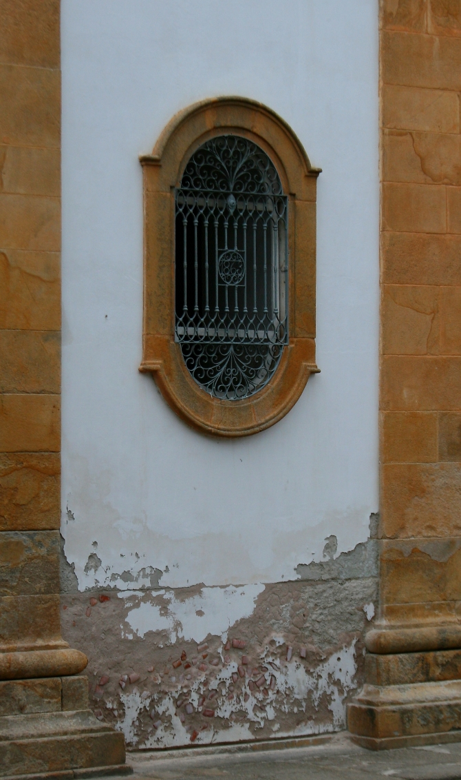 Paraty Church Detail