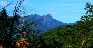 Jureia Mountains above my House